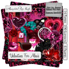 PTU Now FTU Kit: Valentines For Alexis from Manipulated by Magik