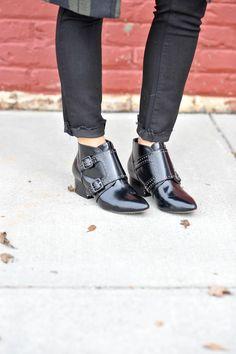 best flat booties, edgy boots, fashion, fall fashion - My Style Vita @mystylevita