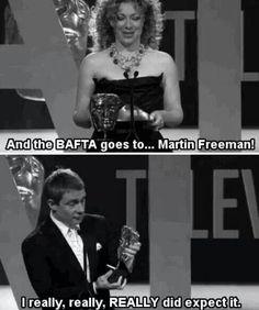 Martin Freeman, ladies and gents.