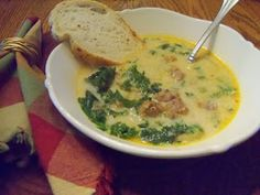 "The Blue Spotted Owl: ""Olive Garden's"" Zuppa Toscana Soup"