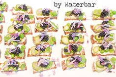 http://culintro.com/events/77/  Spring Vegetable & Caviar Crostini by Waterbar in San Francisco