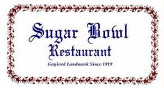 Sugar Bowl Restaurant - One of our hangouts - we'd go here for french fried onion rings and Coke