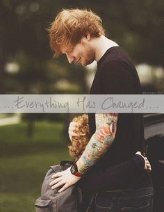 everything has changed | taylor swift & ed sheeran;) | concerttickets.com #edsheeran #music #concerttickets