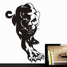 Vinyl Wall Decal Sticker Bedroom Holl Dorm Panthera Animals Nature Leopard A81