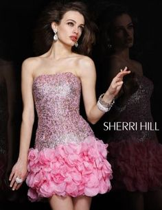 82cad4b34fc Sherri Hill has a range of beautiful prom dresses to fit your style