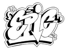 Easy Cool Drawing Ideas Cool Graffiti Drawing Simple Drawing Of