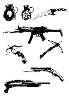 weapons #endland #theknightofdesign