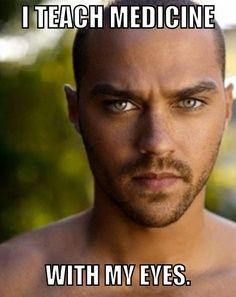 Jesse Williams -Grey's Anatomy memes