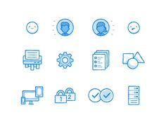 Sketchy Icons by Ryan Putnam for Dropbox