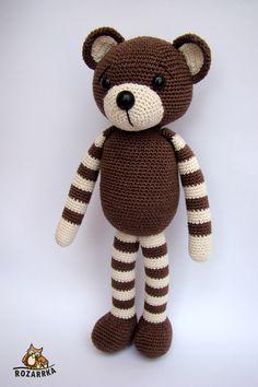 návod na háčkovaného macuľka (cca / Zboží prodejce rozarrka Mesh Wreaths, Crochet Dolls, Baby Patterns, Teddy Bear, Diy, Anna, Amigurumi Doll, Activity Toys, Baby Dolls