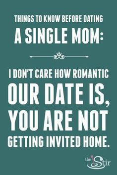 what to expect when dating a single parent