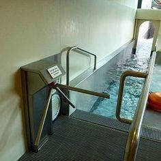 Пока мы мерзнем в Москве, турникеты Gotschlich обеспечивают безопасность в аквапарках Европы!