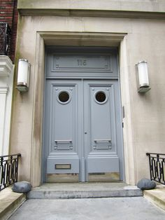 Beautiful double doors