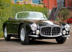 Jaw dropping. The1955 Maserati A6GCS Spider