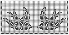 Bird Squares Filet Crochet Chart
