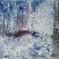 Silver - Mix on canvas - 100x81cm