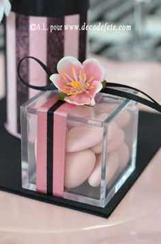 Pink Favors ~ ♥