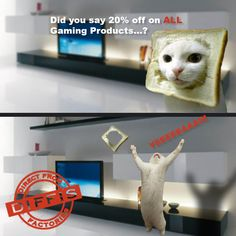 What would internet be without cats? Think outside the toast! :P