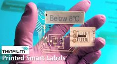 Thin Film Electronics demonstrates a way to make disposable interactive smart labels that replace bar codes Smart Packaging, Thin Film, Innovation, Packing, Coding, Bar, Electronics, Prints