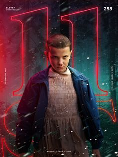Eleven | Stranger things 2 | poster y Magdiel Lopez #StrangerThings #eleven