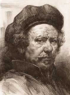 Rembrandt Portrait 2 Canvas Print / Canvas Art by Behzad Sohrabi ...