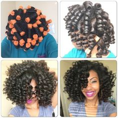 5 Stunning Pictorials of Perm Rod Styles | Black Girl with Long Hair| manely_maya