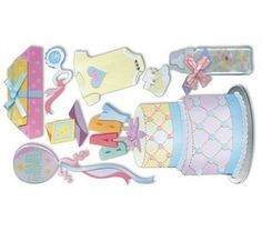 New Jolees Dimensional Stickers Baby by YourScrapbookingShop