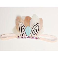 Feather Pixie Crown Marni van atinyarrow op Etsy, $32.00
