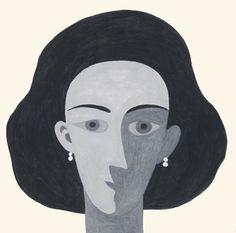 Retrato de la escritora de literatura infantil y juvenil Begoña Oro. Elisa Arguilé