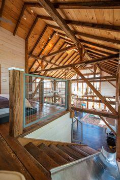 51 Of The Absolute Best Barndominium Pictures On The Internet Lofts, Barndominium Pictures, Converted Barn Homes, Stair Slide, Barn Siding, Vinyl Siding, Hay Barn, Barn Renovation, Barn House Plans