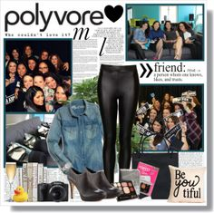 """""""Polyvore HQ Meetup 2013 (What I Wore)"""" by coeurdcoeurs7 on Polyvore"""