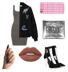 """""""Drake's girl"""" by angelinavoron23 ❤ liked on Polyvore featuring Puma, Sarah Baily, Casetify and Lime Crime"""