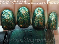 Green and flakies