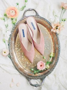 Pastel wedding shoes with gilded tray, french wedding inspiration French Wedding, Wedding Looks, French Dinner Parties, Romantic Candles, Wedding Shoes Heels, Second Weddings, Bride Makeup, Party Looks, Floral Wedding