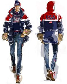 e1523fe8b61 Ralph Lauren Unveils Team USA s Opening Ceremony Olympic Uniforms