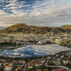 Bergen Norway's Second City and the Gateway to the Fjords. Photo by @espenhaag on Instagram.