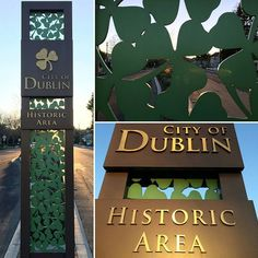 city of dublin california signage - Google Search