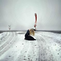 Awe-Inspiring Self Portraits by Rachel Baran 28 - https://www.facebook.com/different.solutions.page
