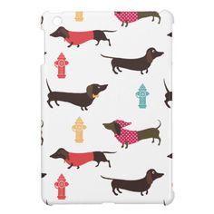 sassy dachshund iPad case