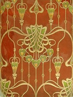Historical Art Nouveau Wallpaper Patterns | Visit theartnouveaublog.blogspot.com