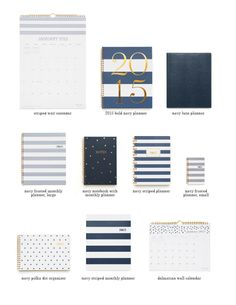 sugar paper planners...the budget friendly Target version!