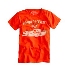 $22.50 Would be awesome for Italian Fest, pretty sure I am ordering these tees.    Boys' Italian race car tee