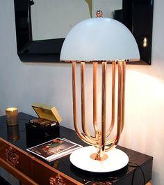Copper piping furniture