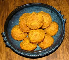Pumpkin Cheddar Muffins