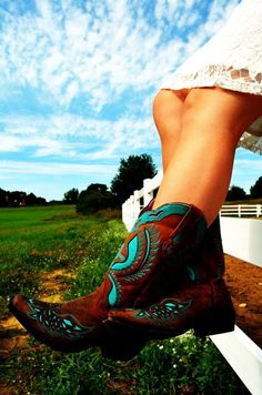 Cowboy boots. Who does not love a pair of good quality cowboy boots? I still have mine from High School. #MYSUPPLYSTORE #THEGRANGE