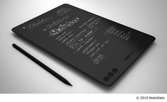 Noteslate - Cool new notetaking tablet