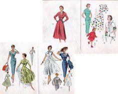 1950s Vintage Lutterloh The Golden Rule #crafts #sewing #vintage #1950s #lutterloh