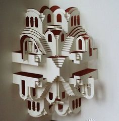Paper Models of Buildings