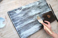 Состаривание древесины: основные методы