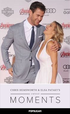 Chris Hemsworth and Elsa Pataky look so in love it almost hurts
